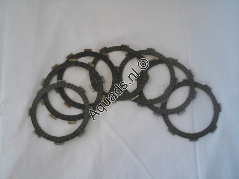 Clutch plates  Shineray st-9e stixe / spyder