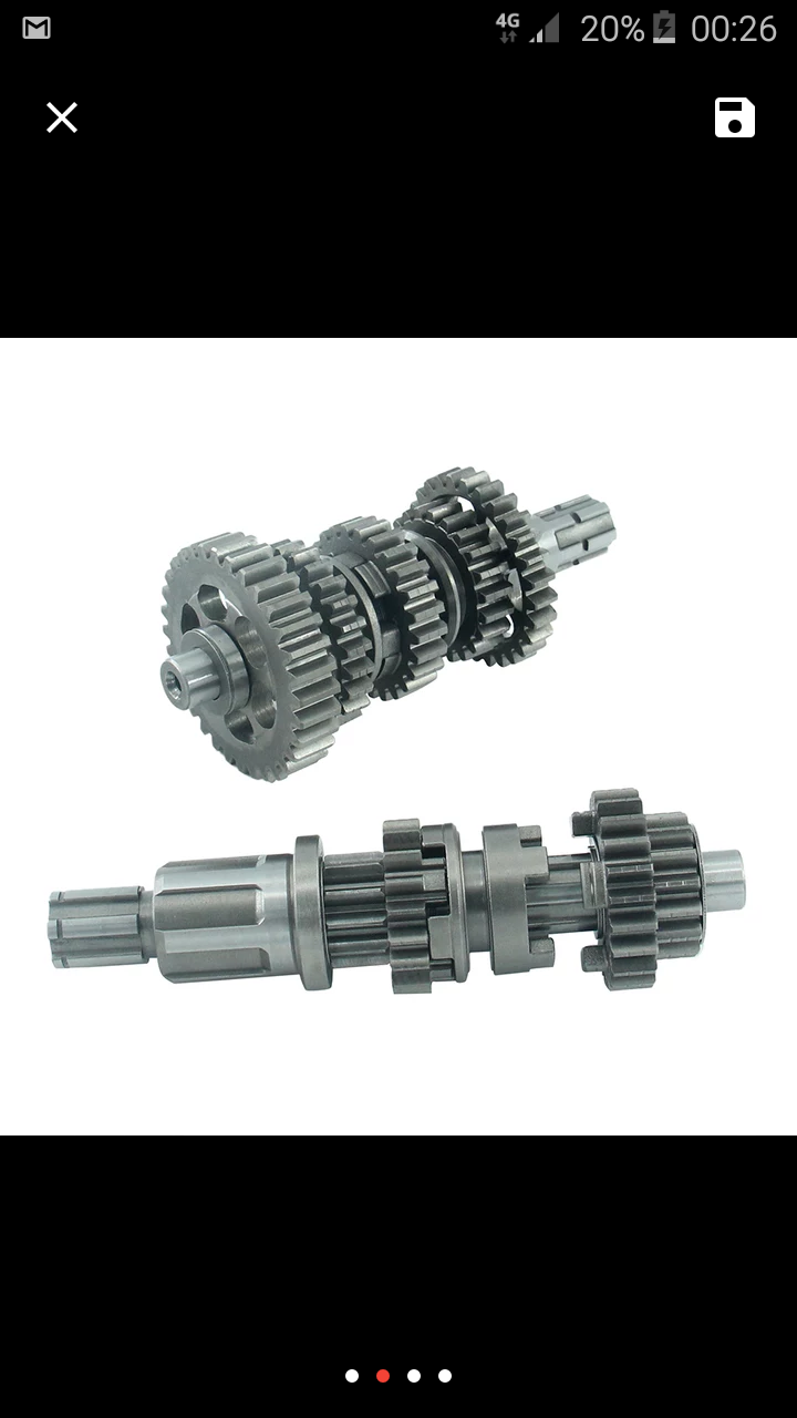 Gearbox shineray stixe