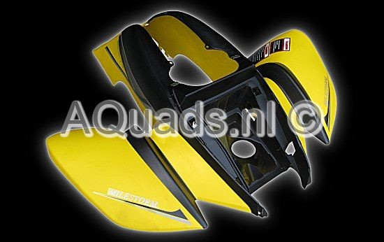Front fender  yellow